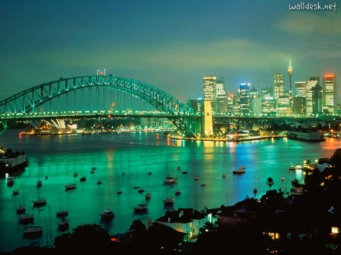 sydney-harbor-at-dusk-australia