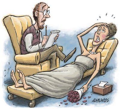 noiva estressada